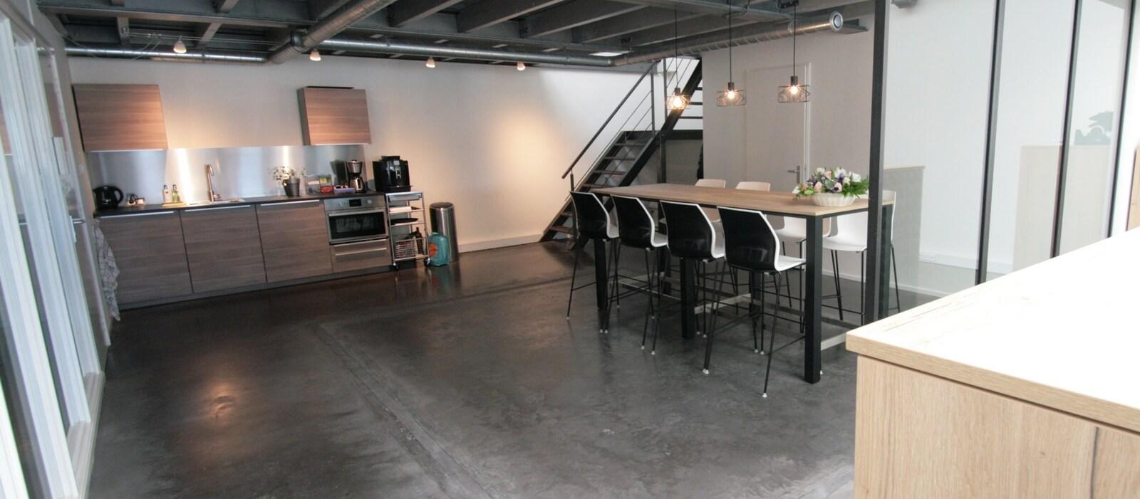 interieuradvies voor nieuw industrieel kantoor centlonen