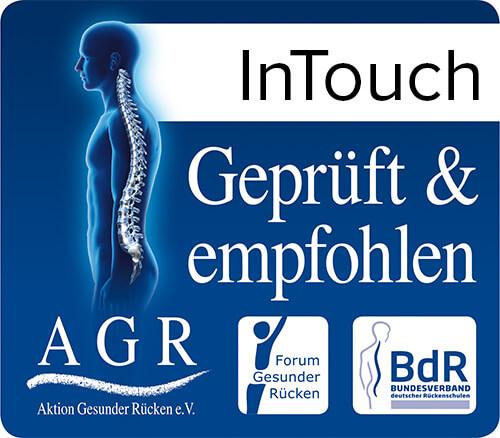 AGR logo voor gezond zitten