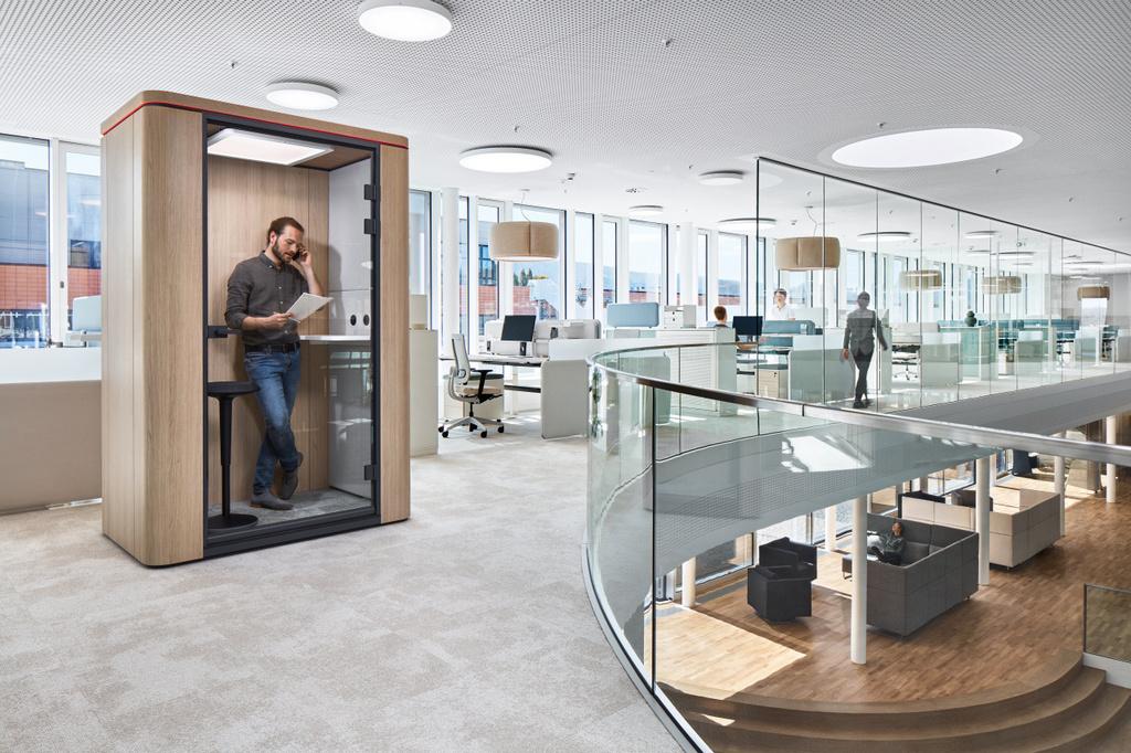 Perla Concentratie Unit in kantooromgeving
