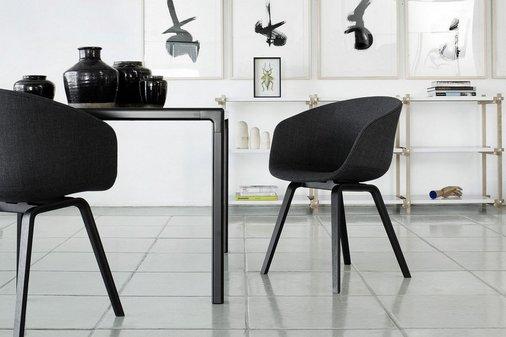 Perla Hay stoel in zwart