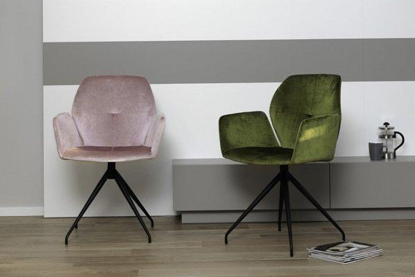 Mobitec Moods stoelen in velours stof