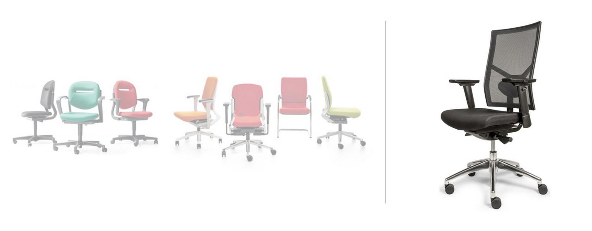 Ahrend bureaustoel alternatief in de kleur zwart