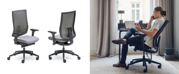 Ergo Pro ergonimische bureaustoel voor thuis